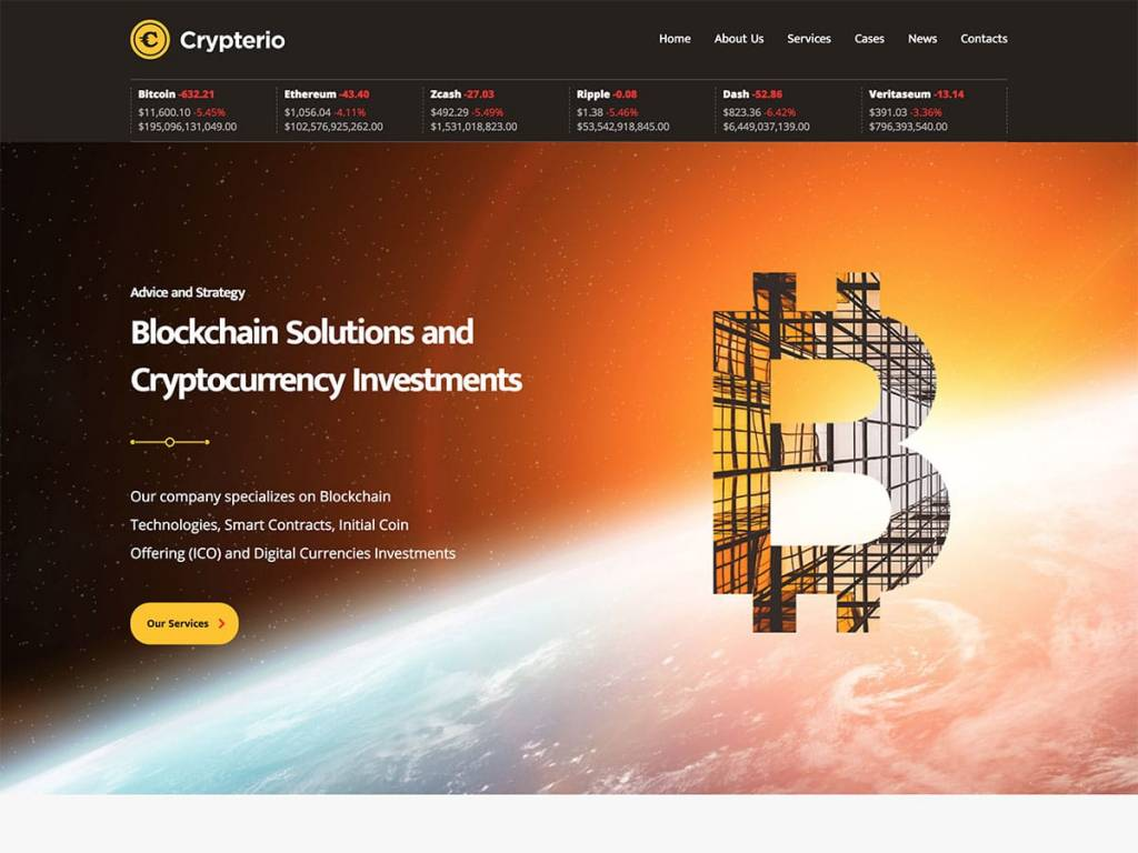 Crypterio-Cryptocurrency-WordPress-Theme