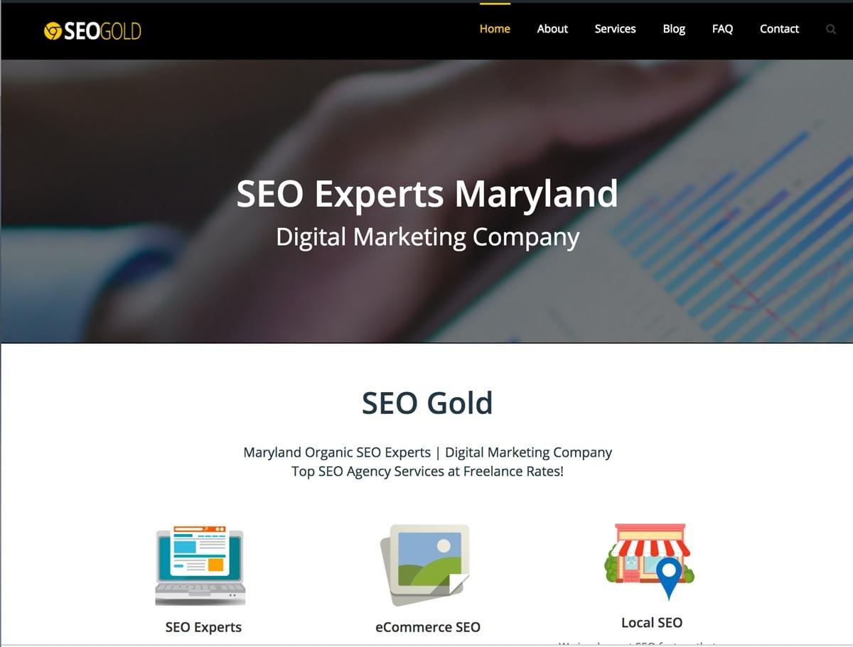 SEO Gold Site Screenshot
