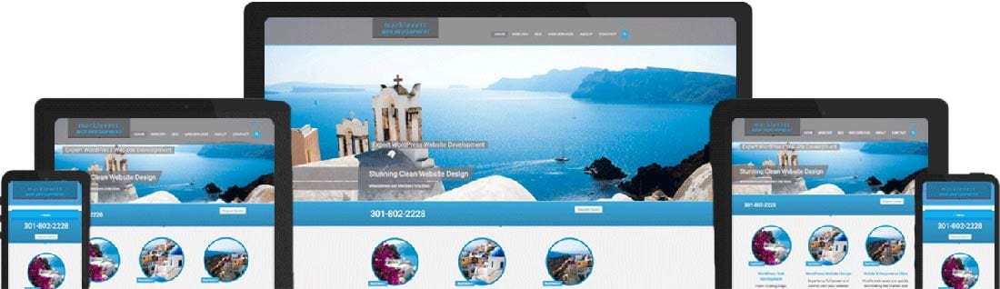mark lovett web design responsive wordpress websites
