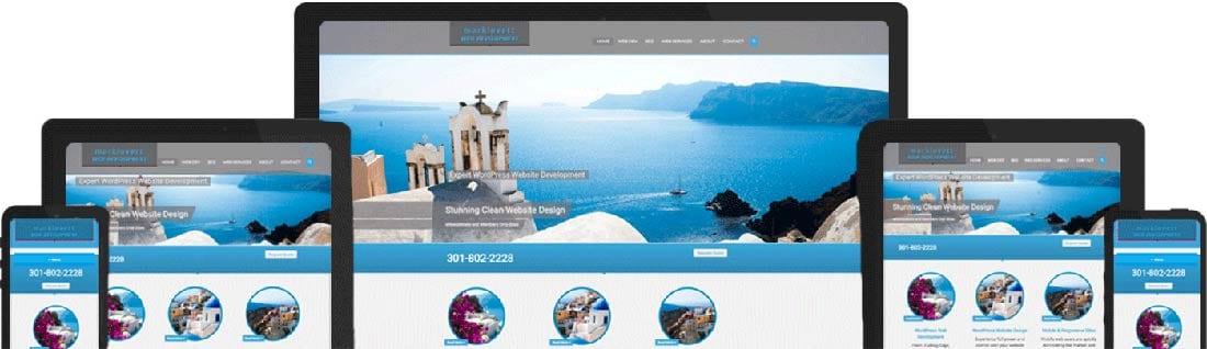 mark lovett web design responsive wordpress websites