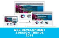 web development web design trends 2018