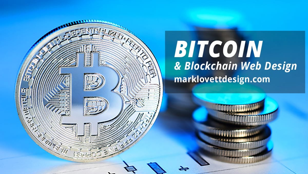 bitcoin blockchain web design by mark lovett web design