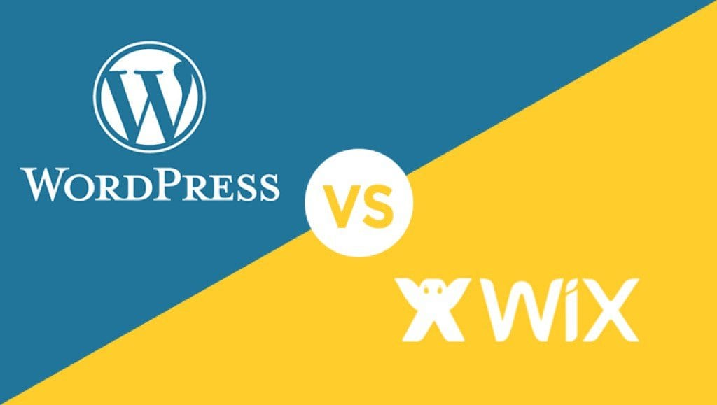 wordpress vs wix - how to build a website
