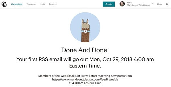 rss-to-email-mailchimp-launch