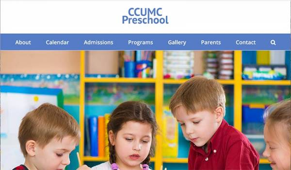 ccumc-preschool-web-design