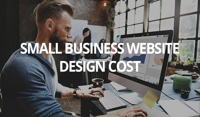 small business website design cost
