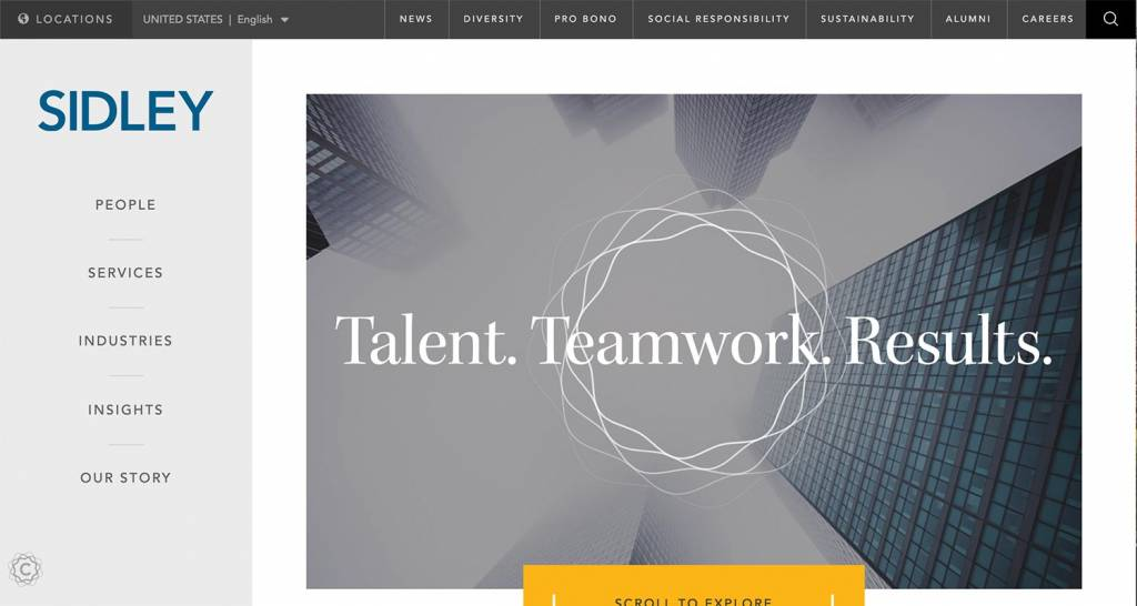 best-law-firm-websites-sidley